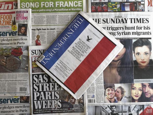 Papers terrorism